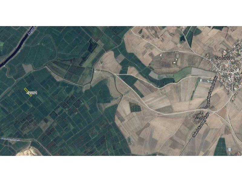 Edirne Uzunköprü Bankadan Satılık 3000 m2 Tarla