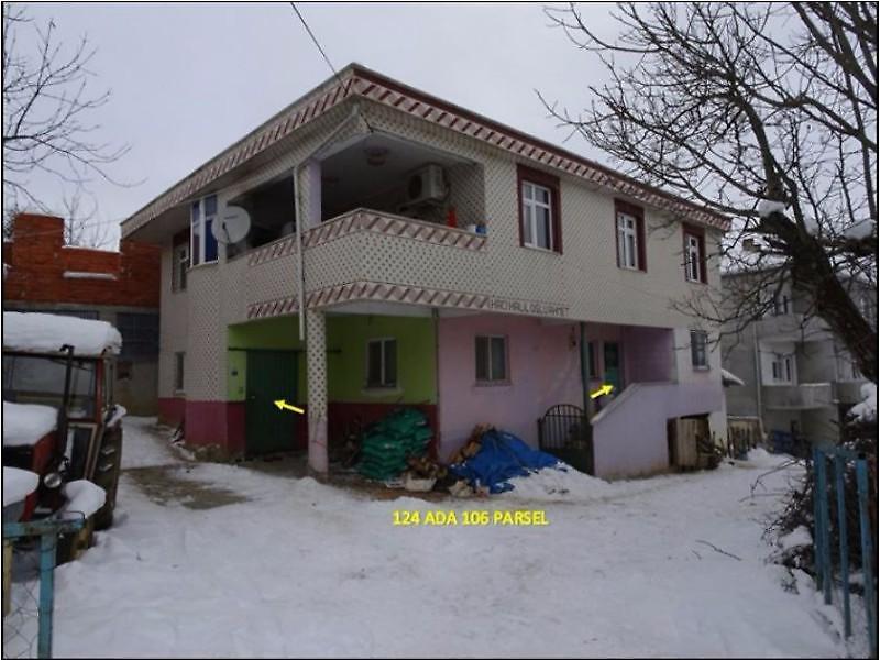 Samsun Asarcık Yeşilköy'de Ev ve Ahır olan 616m2 Bahçe