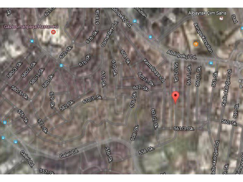 İstanbul Gaziosmanpaşa Bankadan Satılık 65 m2 Daire