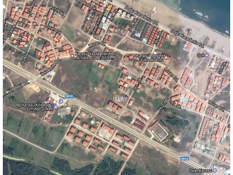 Sakarya Karasu Aziziye Mahallesi 45 m2 Daire