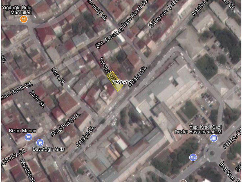 Samsun İlkadım Bankadan Satılık 69 m2 Daire