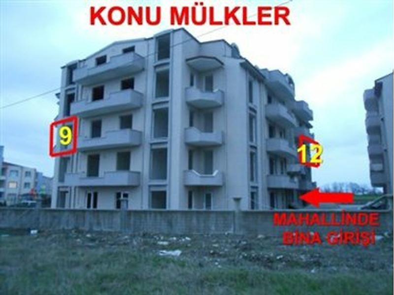 Kocaeli Kartepe Arslanbey'de Natamam Daire  2+1 86 m2