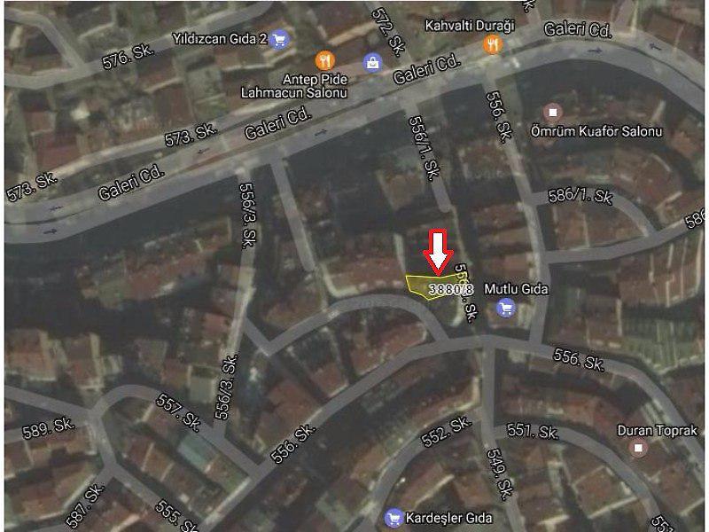İstanbul Gaziosmanpaşa'da 2+1 Daire 63 m2