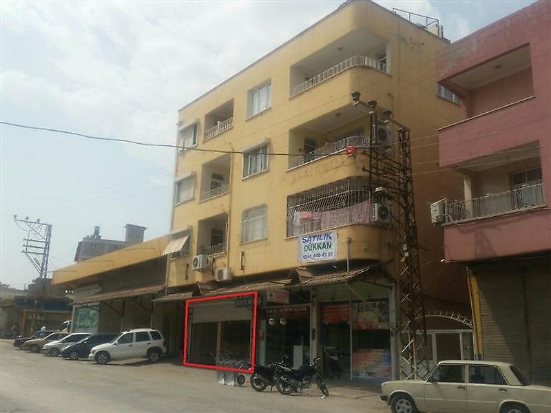 Hatay Reyhanlı Cumhuriyet'te 60 m2 Dükkan