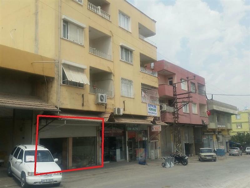 Hatay Reyhanlı Bankadan Satılık 60 m2 Dükkan