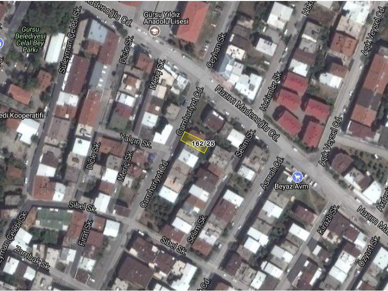 Bursa Gürsu Bankadan Satılık 105 m2 Daire