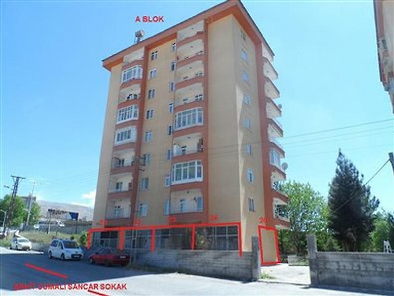Malatya Battalgazi Bankadan Satılık 21 m2 Dükkan