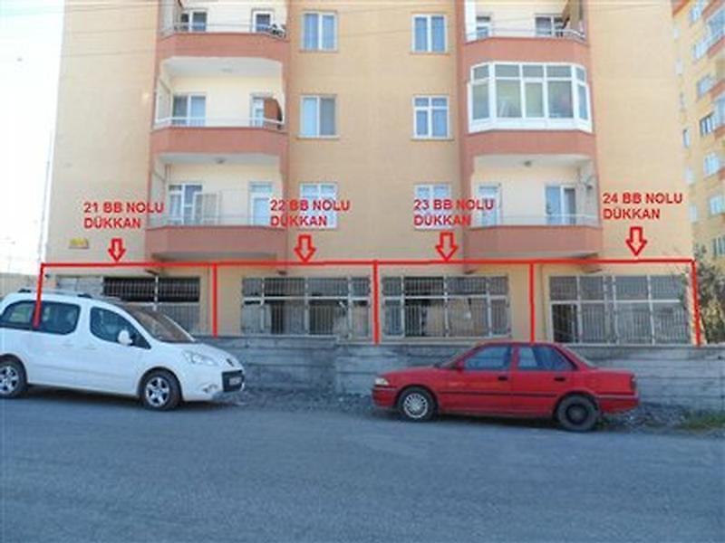 Malatya Battalgazi Selçuklu'da 21m2 Dükkan