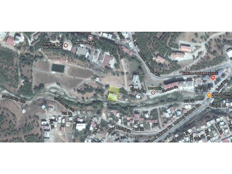 Hatay Kırıkhan Bankadan Satılık 128 m2 Depo