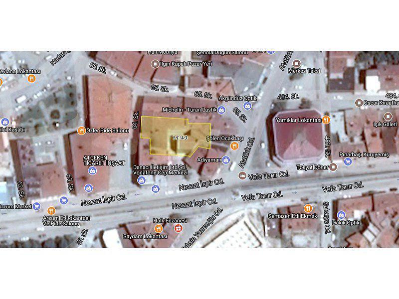 Konya Ilgın Bankadan Satılık 69 m2 Dükkan