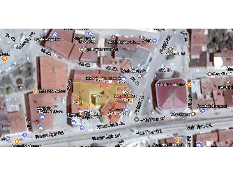 Konya Ilgın Bankadan Satılık 48 m2 Dükkan