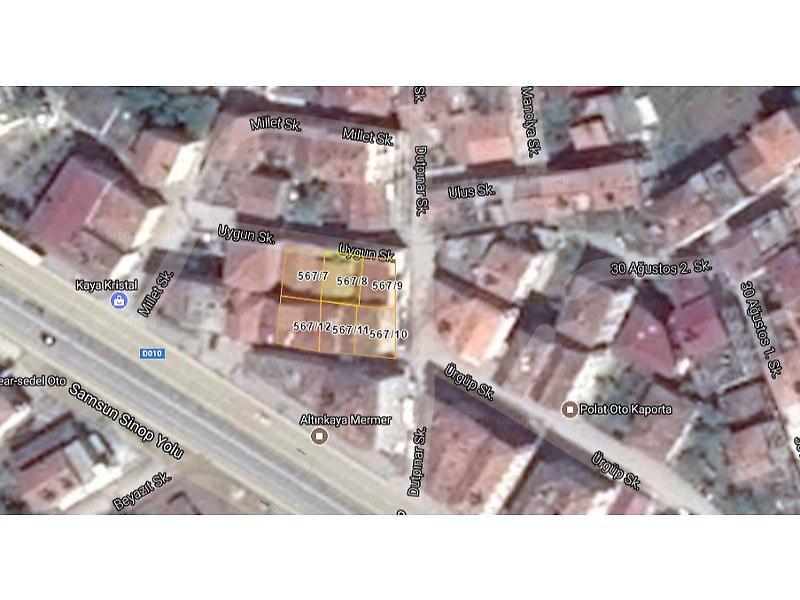 Samsun Bafra Bankadan Satılık 32 m2 Dükkan