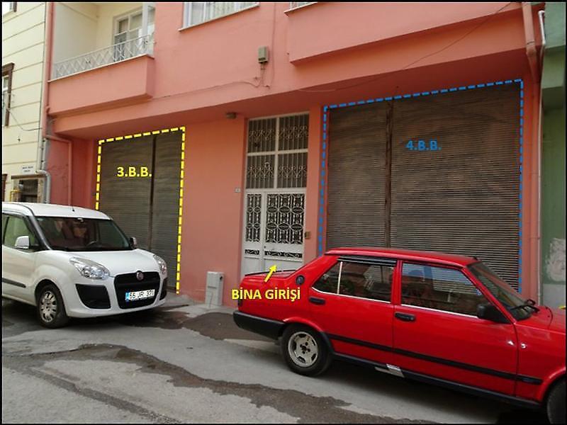 Samsun Bafra'da 30 m2 Dükkan