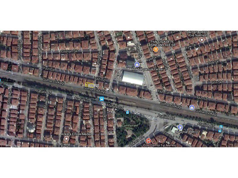 Ankara Sincan Bankadan Satılık 24 m2 Dükkan