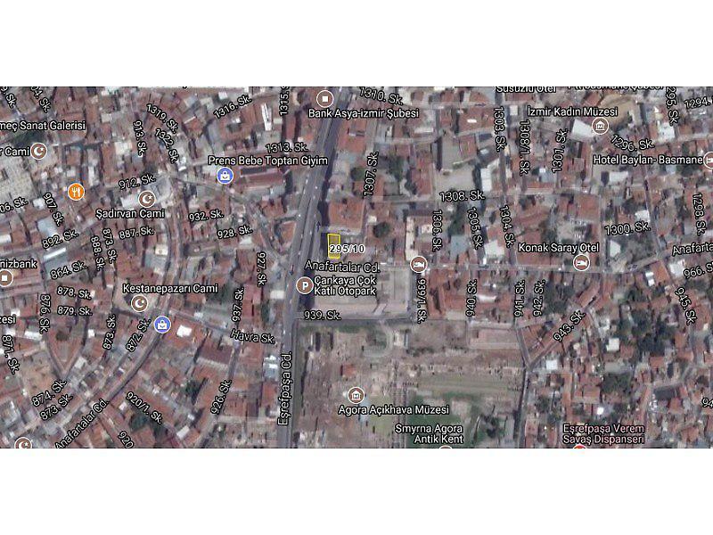 İzmir Konak Bankadan Satılık 32 m2 Ofis