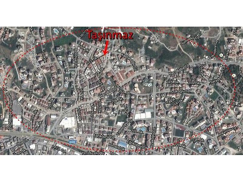 Antalya Alanya Bankadan Satılık 15 m2 Dükkan