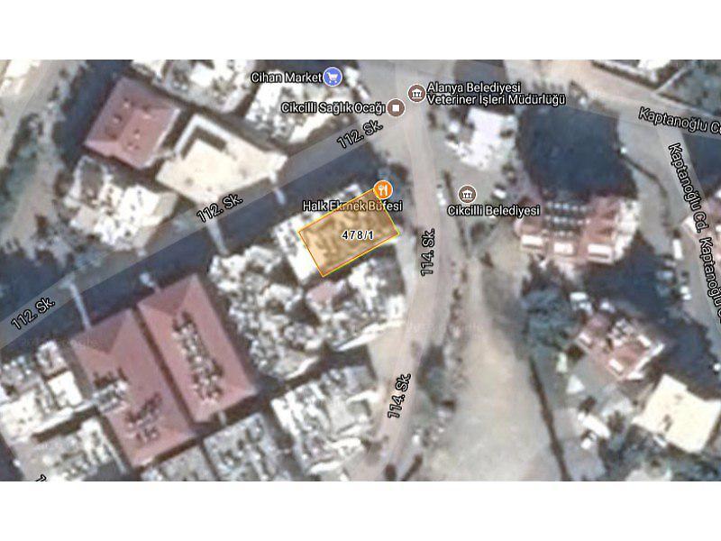 Antalya Alanya Bankadan Satılık 16 m2 Dükkan