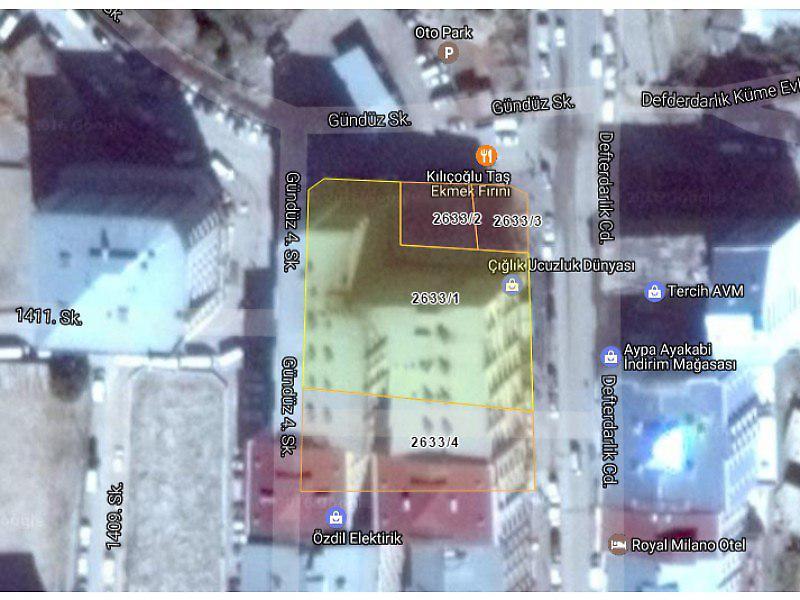 Van Merkez Bankadan Satılık 540 m2 Depo