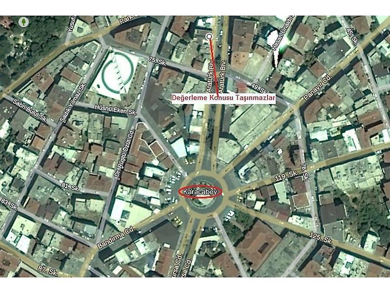 Bursa Karacabey Bankadan Satılık 51 m2 Ofis