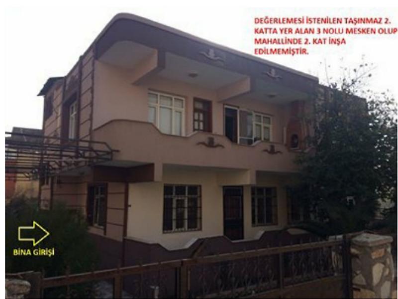 Hatay Kırıkhan Cumhuriyet Mahallesi'nde İnşaatına Başlanmamış Daire
