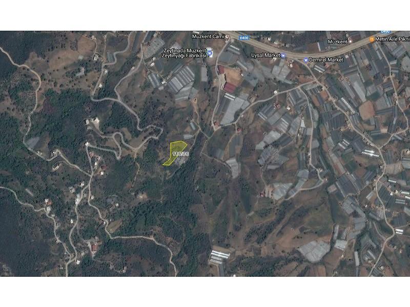 Antalya Gazipaşa Şirketten Satılık 5948 m2 Tarla