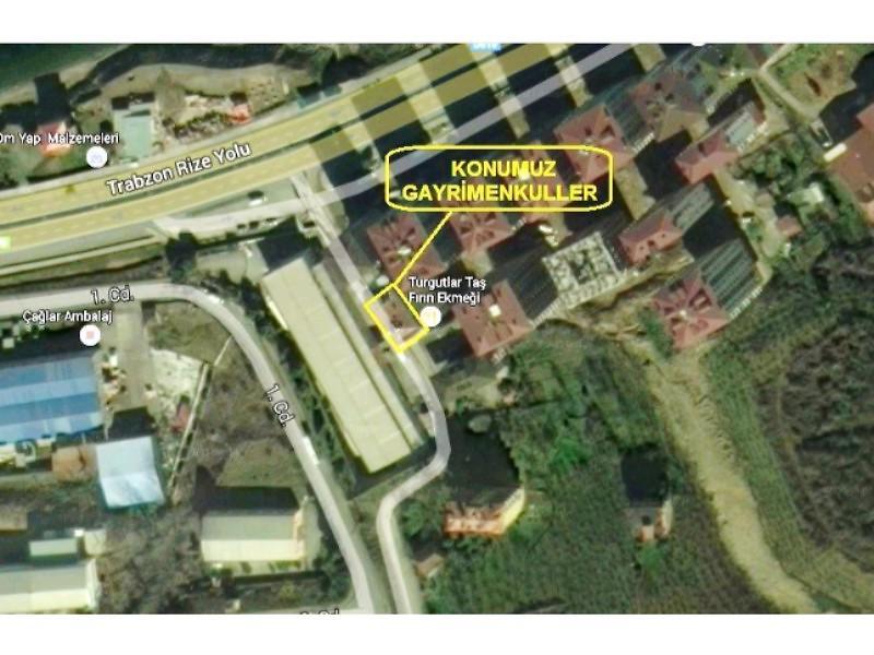 Trabzon Arsin Şirketten Satılık 75 m2 Dükkan