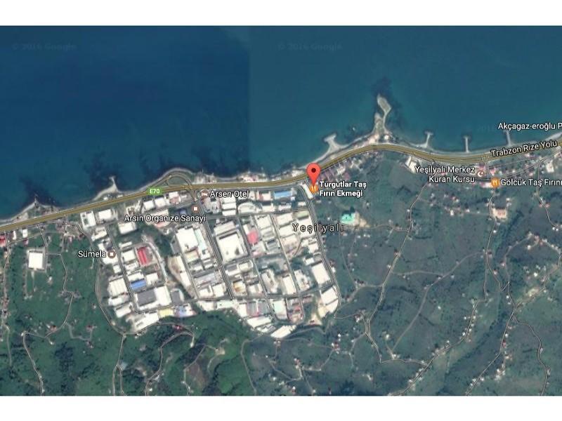 Trabzon Arsin Şirketten Satılık 52 m2 Depo