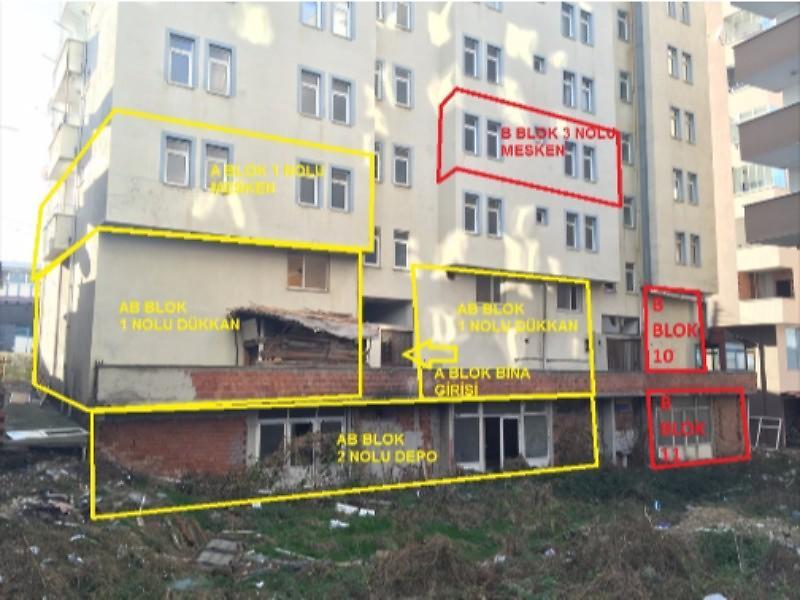 Trabzon Arsin'de 52 m2 Depo