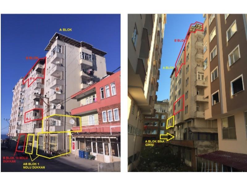 Trabzon Arsin'de 255 m2 Dubleks Daire
