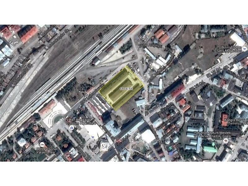 Erzurum Yakutiye Şirketten Satılık 74 m2 Dükkan