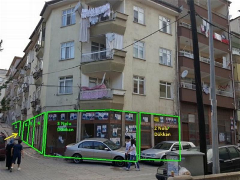 Kırıkkale Hüseyinkahya Mahallesi'nde 54 m2 Dükkan