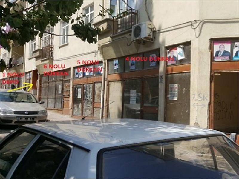 Kırıkkale Hüseyinkahya Mahallesi'nde 21 m2 Dükkan