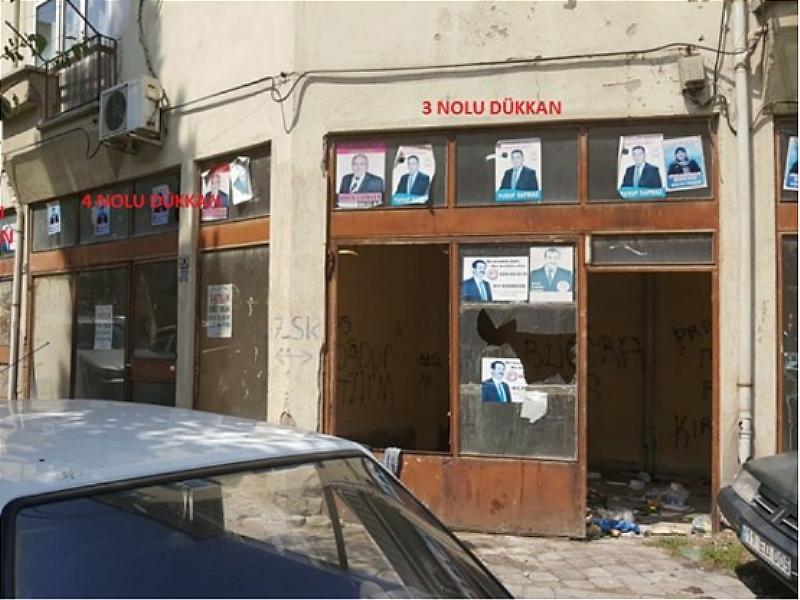 Kırıkkale Hüseyinkahya Mahallesi'nde 28 m2 Dükkan