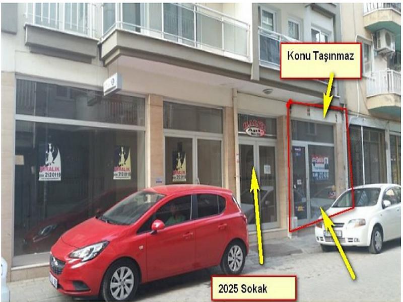 Aydın Efeler'de 115 m2 Dükkan
