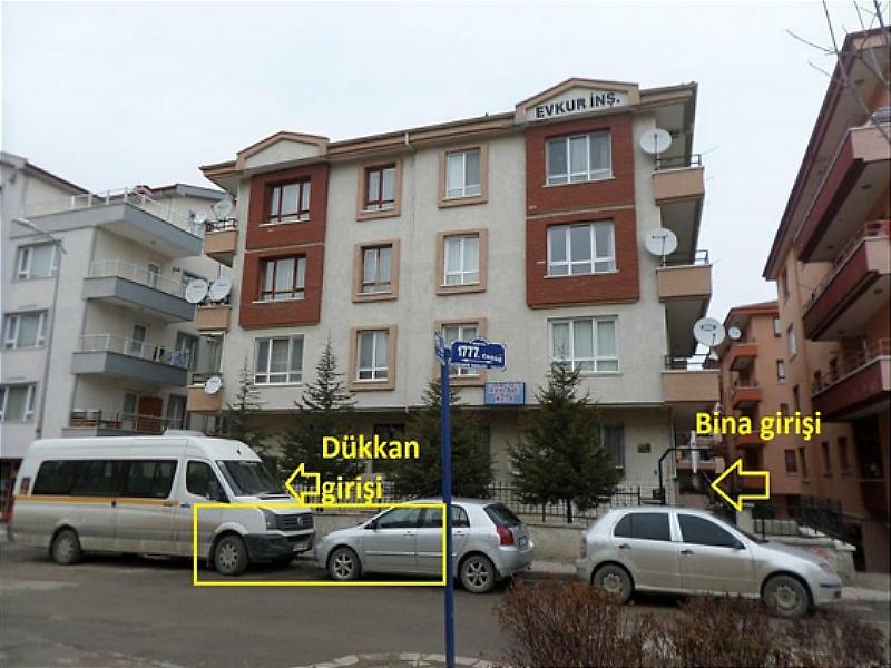 Ankara Mamak Yeşilbayır Mahallesi 50 m2'lik Dükkan