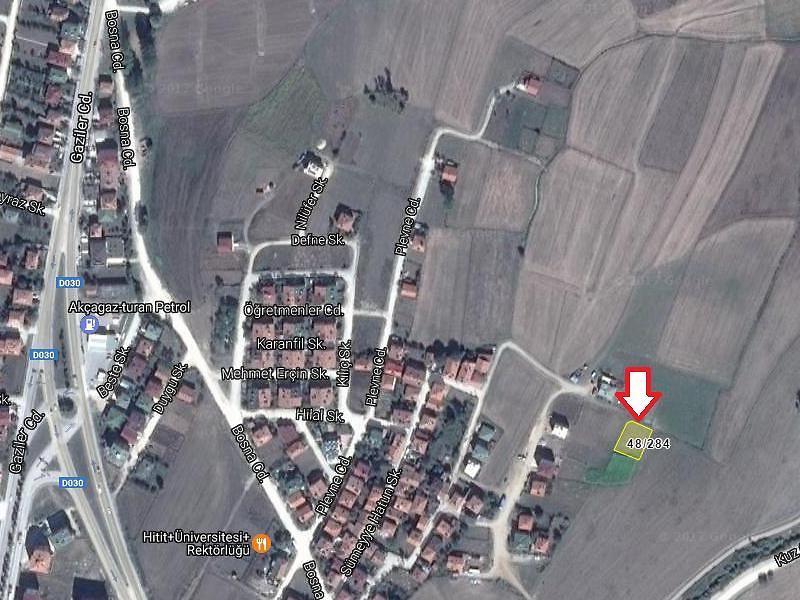 Samsun Ladik Sanayi Mahallesi'nde 697,44 m2 Arsa