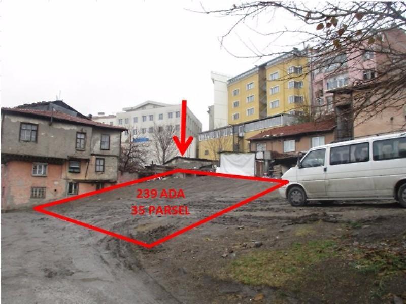 Ankara Altındağ'da 74 m2 Arsa