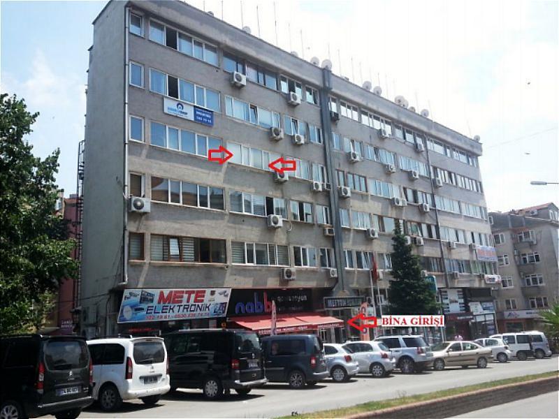 Zonguldak Ereğli Uğur Mumcu Caddesi Meftun İş Hanı'nda 64 m2 Büro