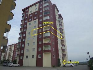 Samsun Atakum Bankadan Satılık 130 m2 Daire