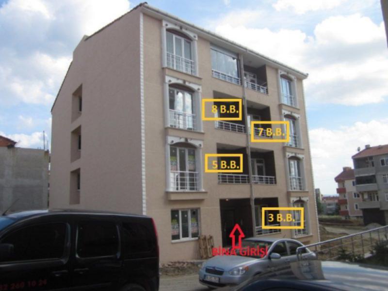Tekirdağ Çınarlı Mahallesin'de 62 m2 Daire