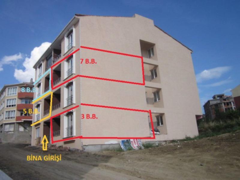 Tekirdağ Merkez Bankadan Satılık 62 m2 Daire