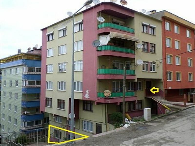 Giresun Hacısiyam  Mahallesi 1+1 57 m2 Daire