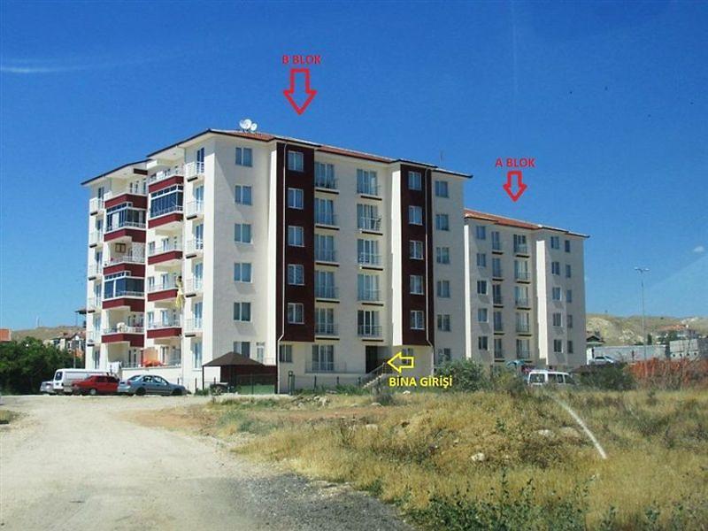 Ankara Şereflikoçhisar Bankadan Satılık 135 m2 Daire