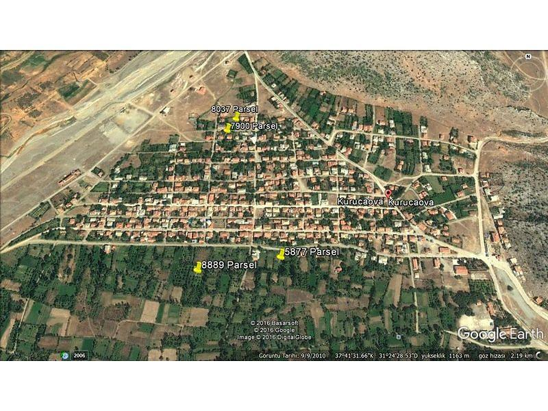 Konya Beyşehir Bankadan Satılık 1200 m2 Bağ & Bahçe
