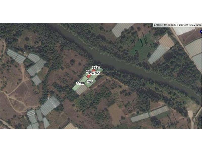 Bilecik Söğüt Bankadan Satılık 480 m2 Bağ & Bahçe