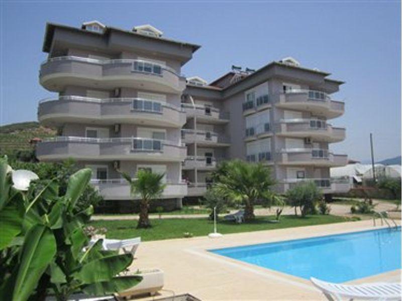 Antalya Alanya'da 110m2 Daire