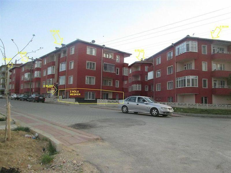 Kütahya Merkez Bankadan Satılık 100 m2 Daire