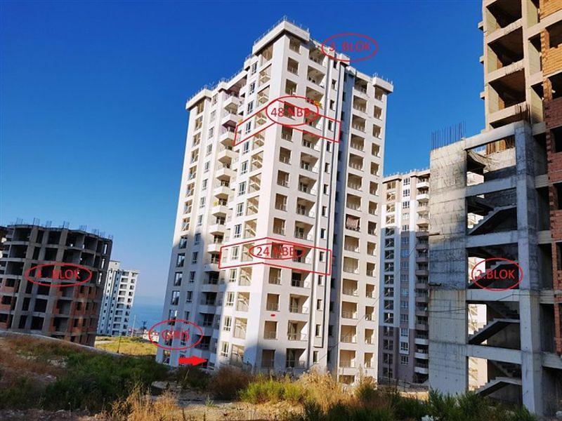 Aydın Kuşadası'nda Natamam 85 m2 Daire