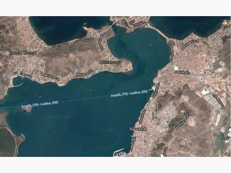 Balıkesir Ayvalık Şirketten Satılık 316 m2 İmarlı