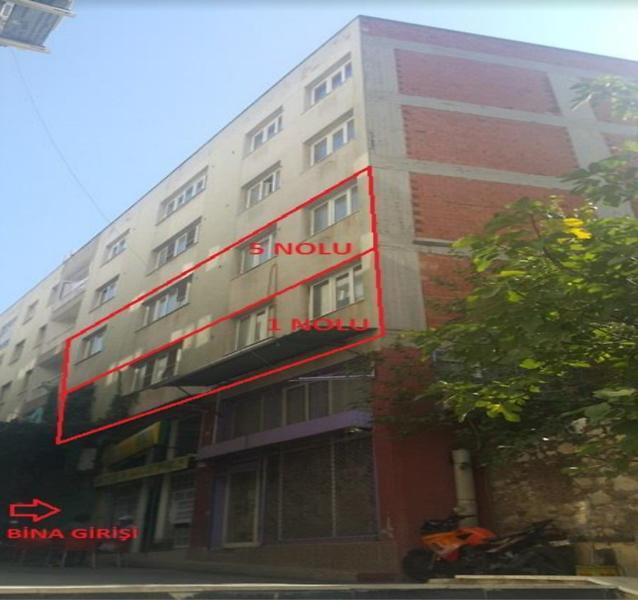 İzmir Tire Cumhuriyet'te 127 m2 Ofis (No:1)